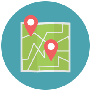 Your business location needs to be clear on your website's homepage
