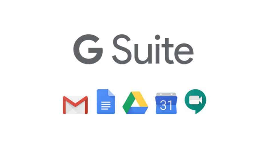 Share documents, resourse, critical spreadsheets & more with G Suite